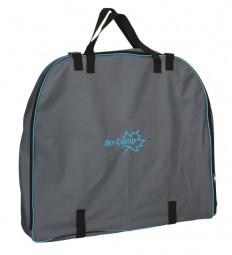 Transporttasche für ovalen Campingtisch 81x75x8 cm
