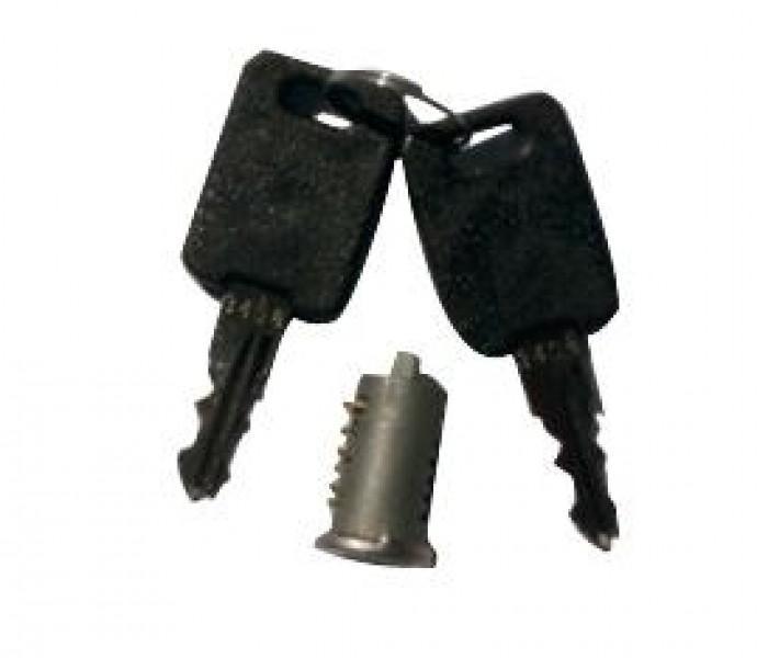 Schließzylinder und 2 Schlüssel FAWO 1