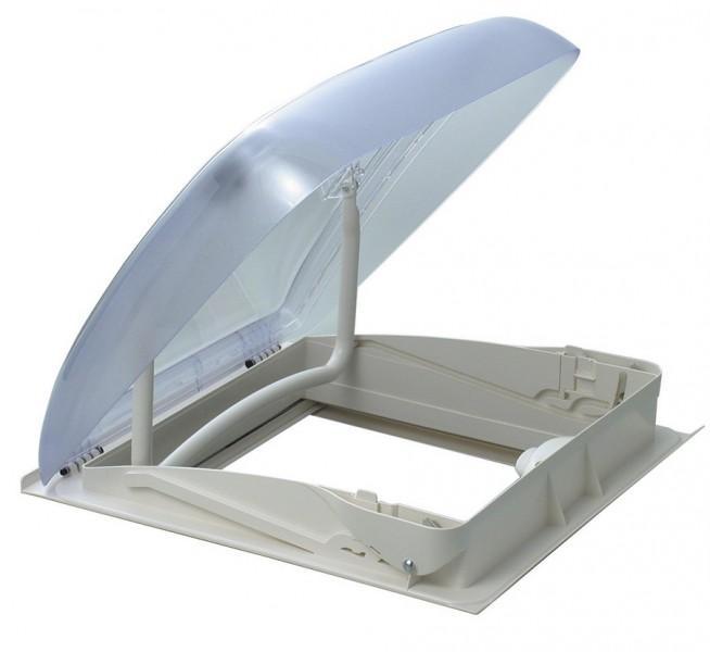 Dachhaube Mini Heki Plus 40 x 40 cm mit Zwangsentlüftung
