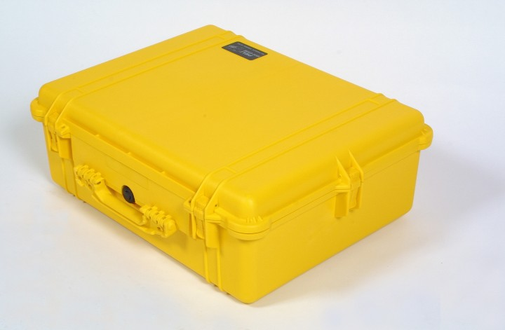Pelibox 1600 gelb mit Schaumeinsatz