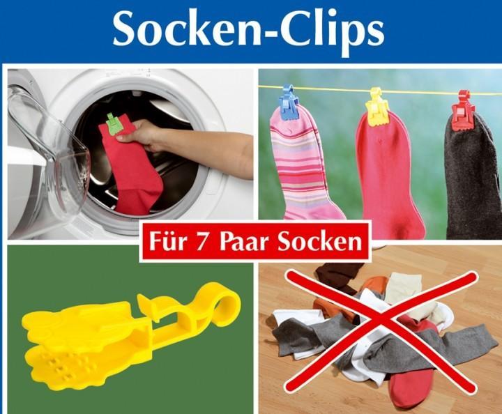 Sockenklammer Socky 7er-Set