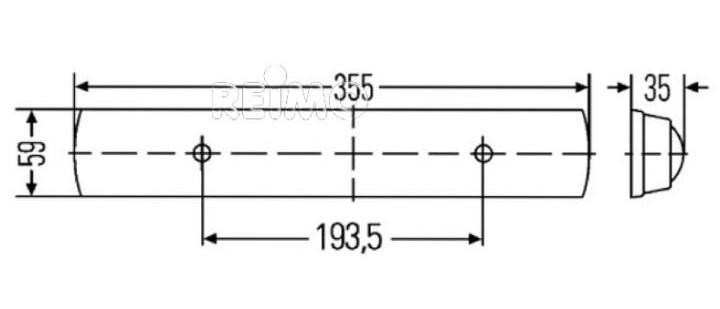 LED 12V Innenraumleuchte
