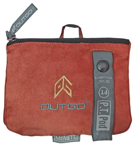 McNett Outgo Handtuch 'PT Pod' terra cotta
