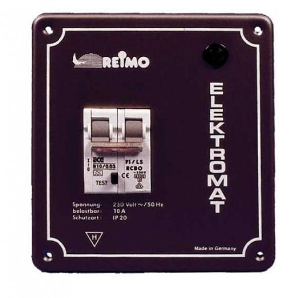 Einbaugehäuse mit Fehlerstromschutzschalter