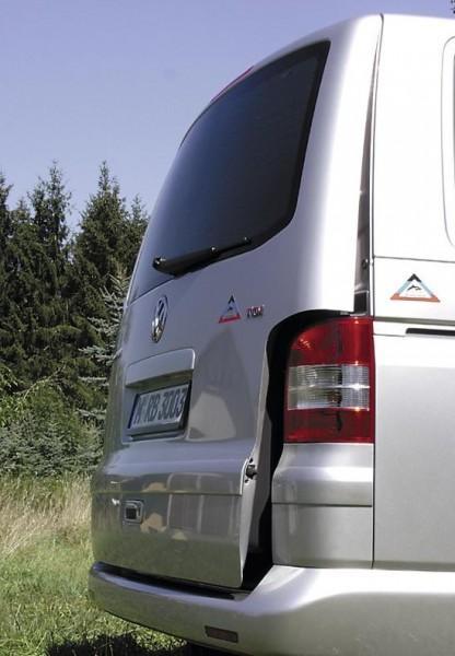 AIR-SAFE Heckklappen-Aufsteller VW-T5 mit Zuziehhilfe