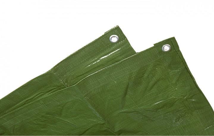 Schutzplane grün 5 x 6 m