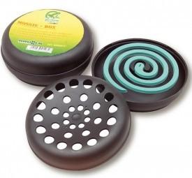 Sicherheitsbehälter für Antimückenspiralen
