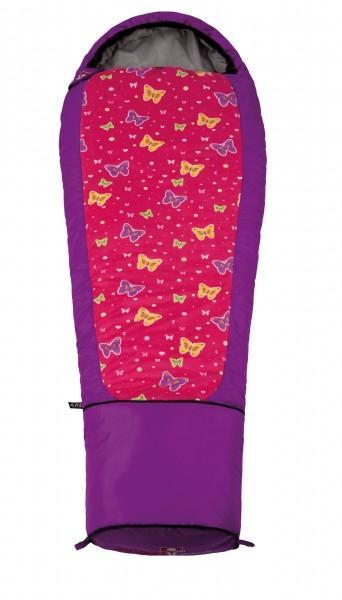 Grüezi-Bag Schlafsack Kids Butterfly links