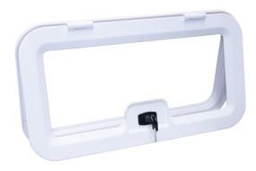 Kofferklappe 800x300cm weiß