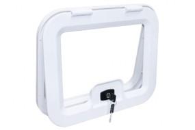 Kofferklappe 365 x 296 mm weiß EDU 350