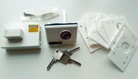 HeoSafe Zusatzschloss Abus Sicherheitsschloss Aufbau