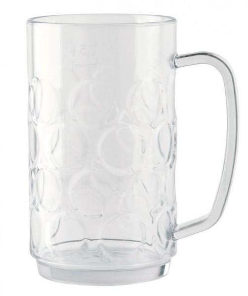 Waca Bierkrug 0,5 l transparent
