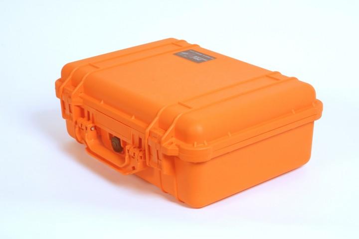 Pelibox 1500 orange mit Schaumeinsatz