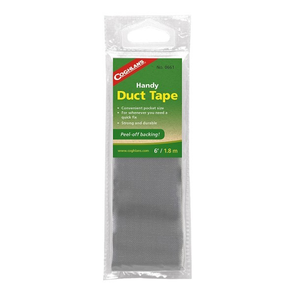 Coghlans Reparaturband Duct Tape silber