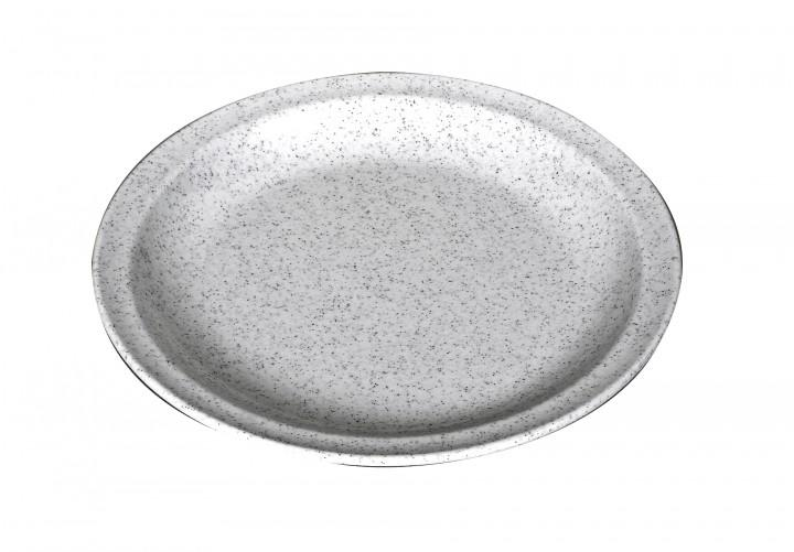 Waca Melamin, granit Teller flach Ø 23,5 cm