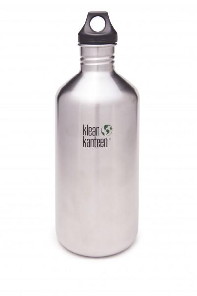 Klean Kanteen Flasche 'Classic' Loop Cap edelstahl, 1,9 L