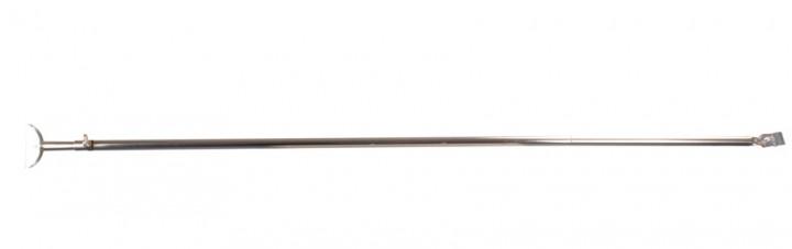 Orkanstütze mit Bügelfuß Stahl 28 mm 260 cm