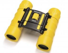 tasco Fernglas 'Essentials' 10 x 25, gelb