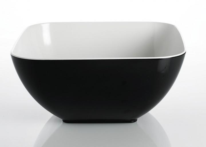 Schüssel Quadrato Black and White