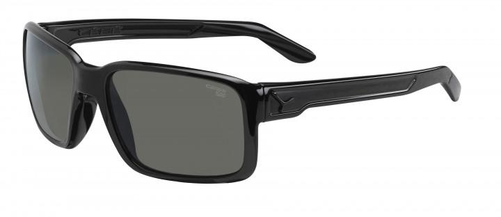 Cebe Sonnenbrille Whisper glänzend schwarz