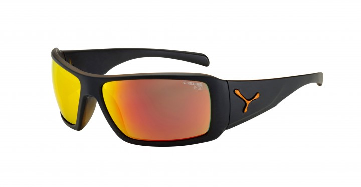 Cebe Sonnenbrille Utopy matt schwarz orange
