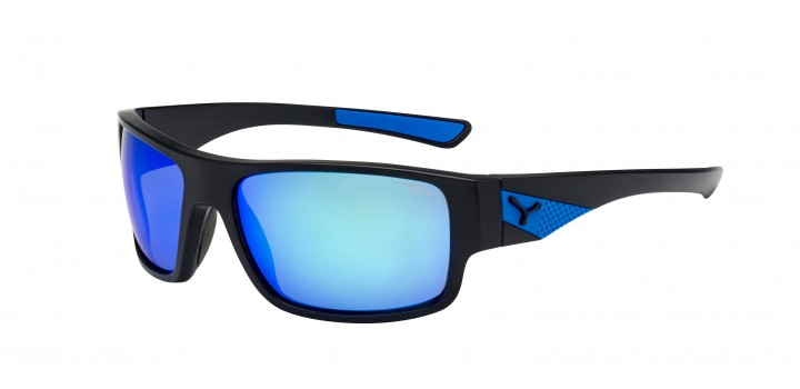 Cebe Sonnenbrille Whisper matt schwarz-blau