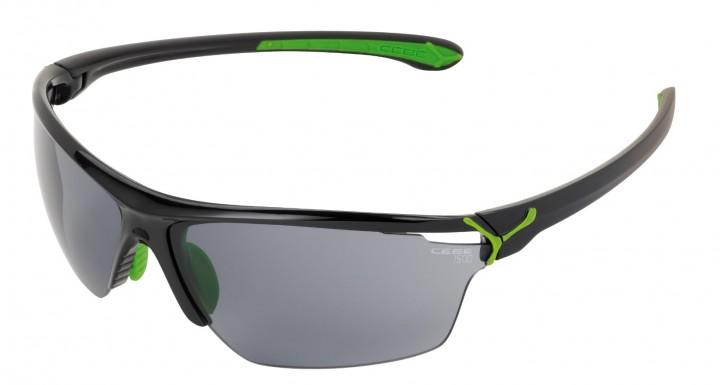 Cebe Sonnenbrille Cinetik glänzend schwarz