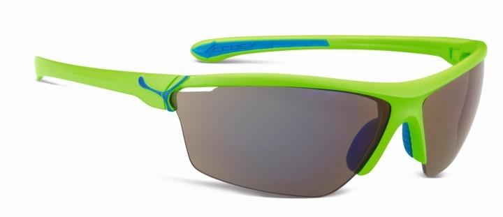Cebe Sonnenbrille Cinetik glänzend matt grün