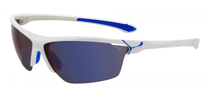 Cebe Sonnenbrille Cinetik glänzend weiß