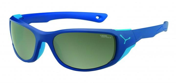 Cebe Sonnenbrille Jorasses M matt blau Variochrome