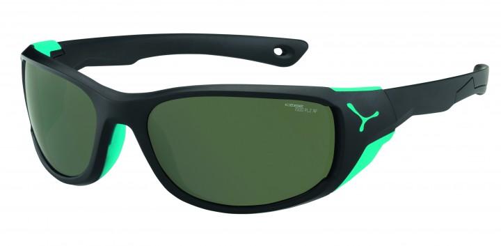 Cebe Sonnenbrille Jorasses M matt schwarz polarisiert