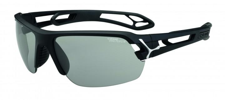 Cebe Sonnenbrille STrack M matt schwarz Variochome
