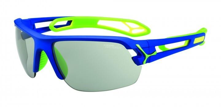 Cebe Sonnenbrille STrack M blau Variochrome