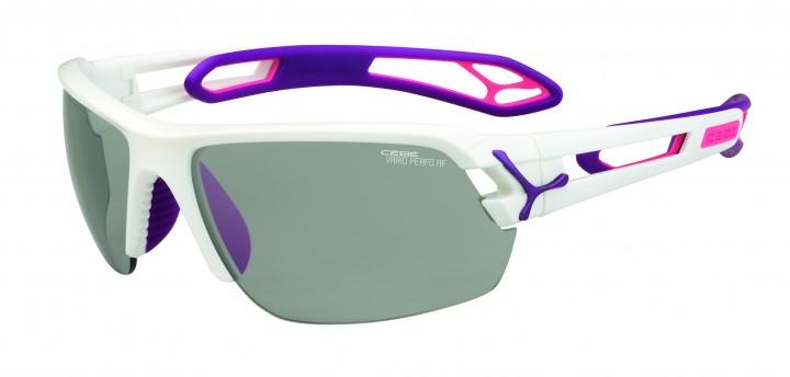 Cebe Sonnenbrille STrack M weiß Variochrome