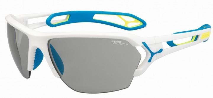 Cebe Sonnenbrille STrack L matt weiß Variochome