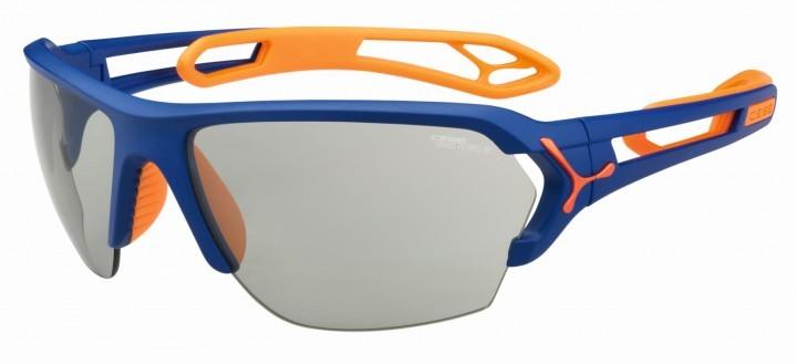 Cebe Sonnenbrille STrack L matt blau Variochome