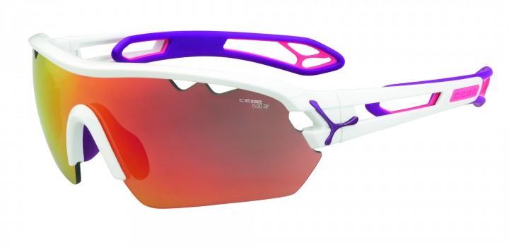 Cebe Sonnenbrille S'Track Mono M matt weiß