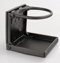 Becherhalter Klappbar schwarz