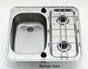 Kocher-Spülenkombination SMEV 927 Becken rechts