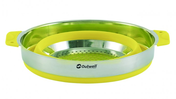 Outwell Topf & Sieb Collaps 4,5 l gelb