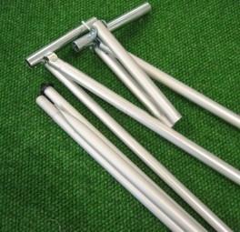 Rhön Gestänge 28 x 1 mm Alu mit Power Grip