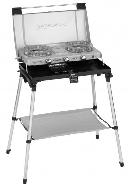 Campingaz 2-Flammkocher '600-ST' mit Toaster und Gestell