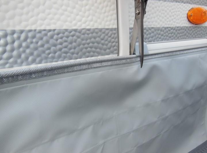Spezial-Bodenschürze für Caravan Länge 4 m Höhe 50 cm