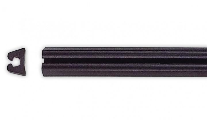 Unterlegprofil E 335 schwarz für 210/028