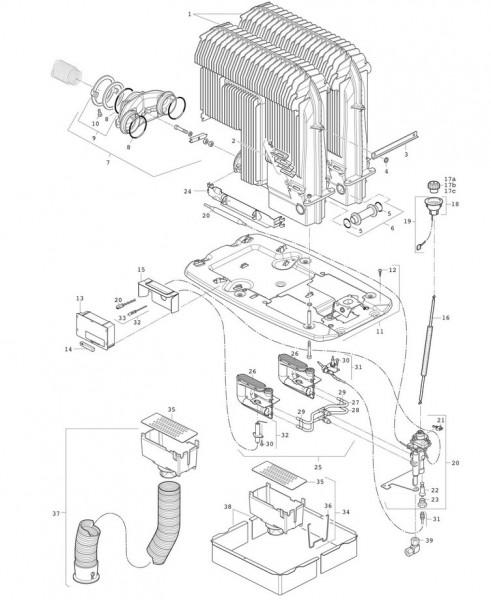 Brennerrohrsatz 30 mbar für Truma S 5004