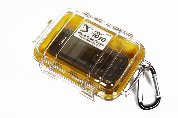 Peli 'MicroCase 1010' klar / gelb