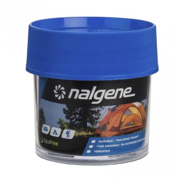Nalgene Dose Polycarbonat 'blue' 125 ml, Hals Ø 63 mm
