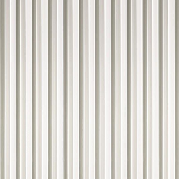 Streifenvorhang grau-weiß