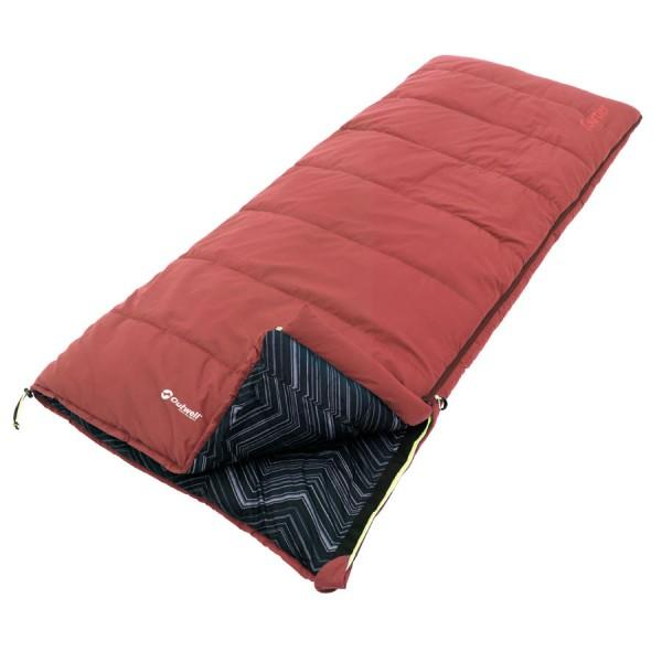 Outwell Deckenschlafsack Red