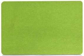 Zeller Filz Platzsets grün 45 x 30 cm